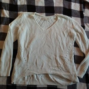 Anne taylor White Sweater